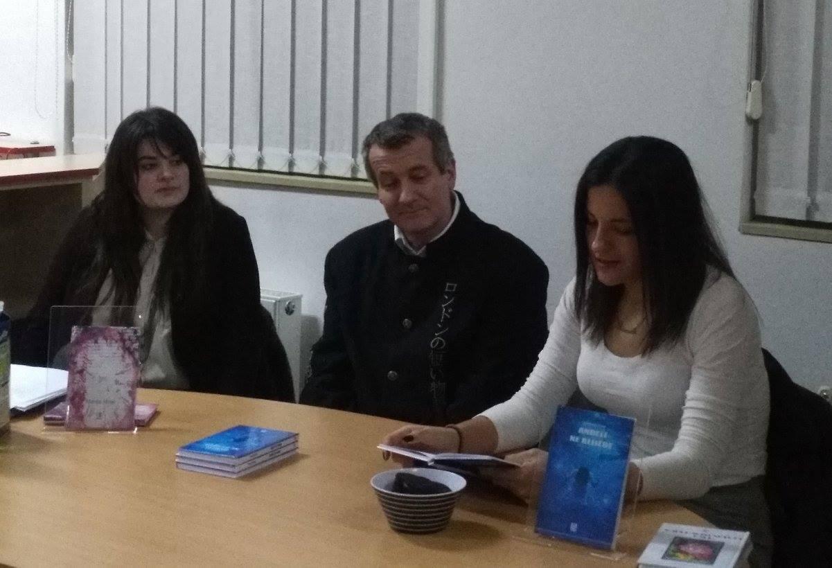 """Narodna knjižnica i čitaonica Majur, """"Anđeli ne blijede"""", Predstavljanje književnog prvijenca mlade autorice Anamarije Tubić"""