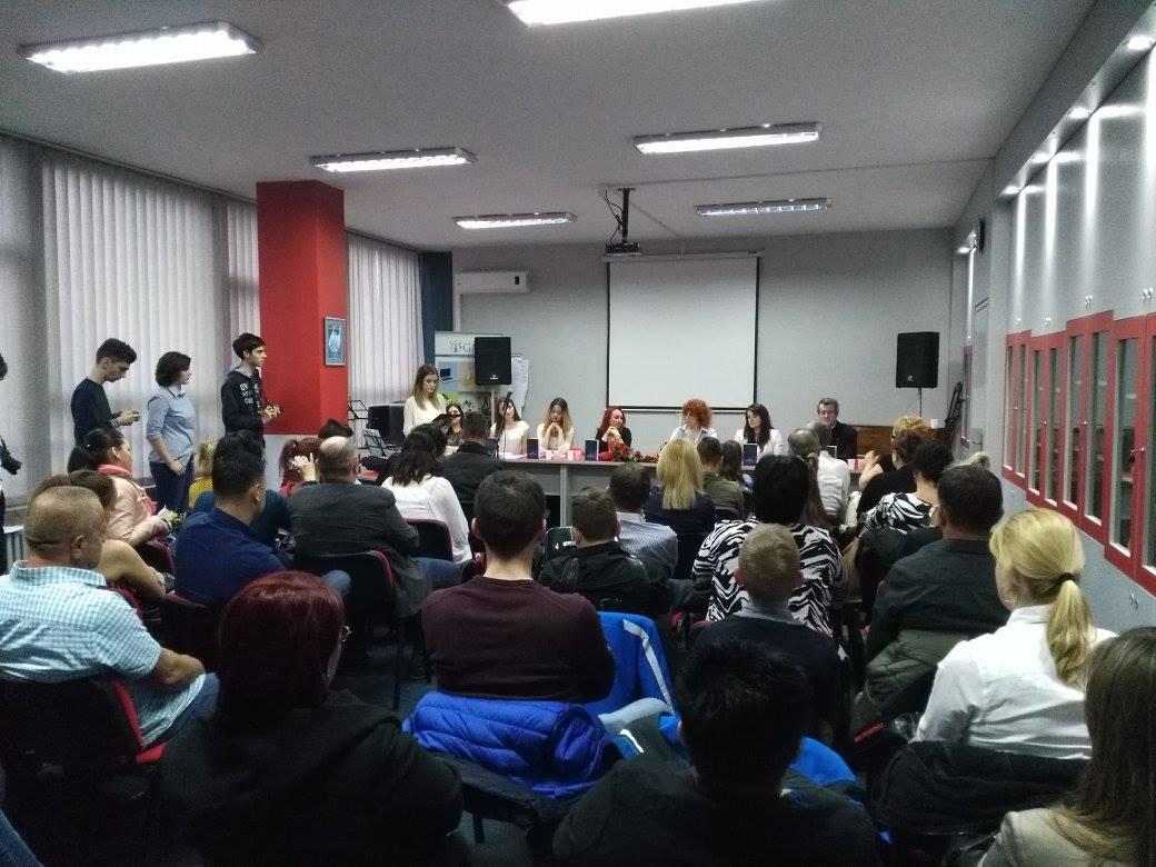 """Gimnazija """"Meša Selimović"""", Tuzla – Predstavljanje knjige """"Tebi, nevoljo moja"""", gimnazijalke Selme Ključić"""