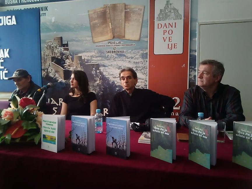 Upriličen književni susret u Plavoj sali Doma kulture u Srebreniku