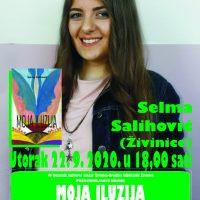 """U Gradskoj biblioteci Živinice, u susjednoj Bosni i Hercegovni, održat će se predstavljanje knjige """"Moja iluzija"""", autorice Selme Salihović"""